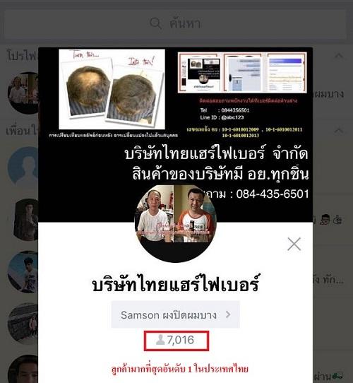 thaihairfiber