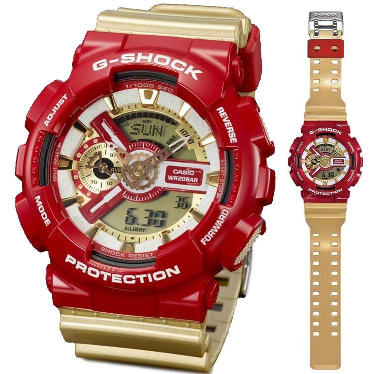 นาฬิกา คาสิโอ Casio G-Shock Limited Models รุ่น GA-110CS-4A สินค้าใหม่ ของแท้ ราคาถูก พร้อมใบรับประกัน