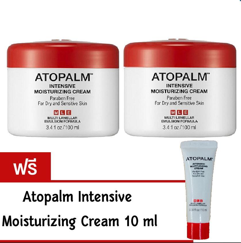 แพคคู่ Atopalm Intensive Moisturizing Cream 100 ml/กระปุก (2 กระปุก)