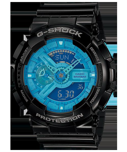 นาฬิกา คาสิโอ Casio G-Shock Standard Analog-Digital รุ่น GA-110B-1A2 สินค้าใหม่ ของแท้ ราคาถูก พร้อมใบรับประกัน