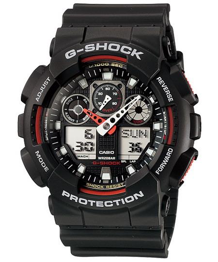 นาฬิกา คาสิโอ Casio G-Shock Standard Analog-Digital รุ่น GA-100-1A4 สินค้าใหม่ ของแท้ ราคาถูก พร้อมใบรับประกัน