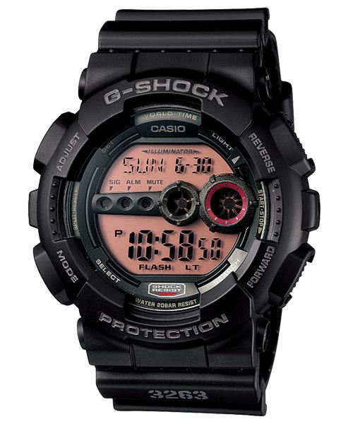 นาฬิกา คาสิโอ Casio G-Shock Standard Digital รุ่น GD-100MS-1DR สินค้าใหม่ ของแท้ ราคาถูก พร้อมใบรับประกัน