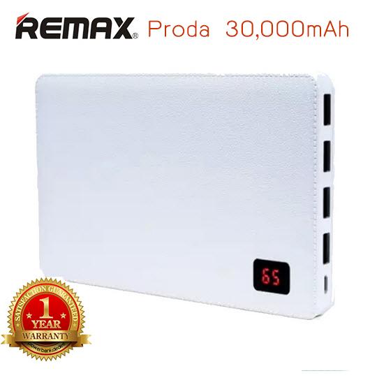 Remax Proda Note Book 30000 mAh ของแท้ สีขาว รับประกัน 1 ปีจากโรงงาน