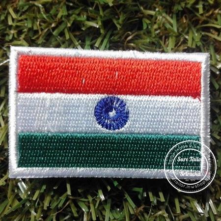อาร์มปักธงอินเดีย