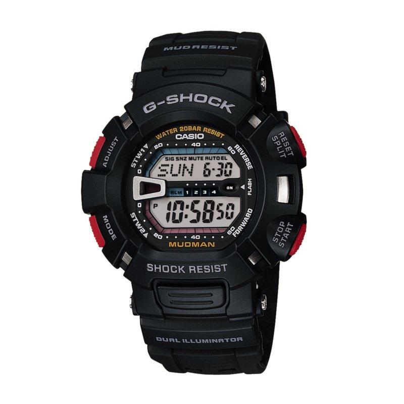 นาฬิกา คาสิโอ Casio G-Shock Professional MUDMAN - MUD RESIST รุ่น G-9000-1V สินค้าใหม่ ของแท้ ราคาถูก พร้อมใบรับประกัน