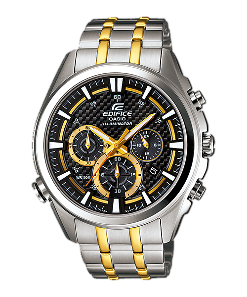 นาฬิกา คาสิโอ Casio Edifice Chronograph รุ่น EFR-537SG-1AV สินค้าใหม่ ของแท้ ราคาถูก พร้อมใบรับประกัน