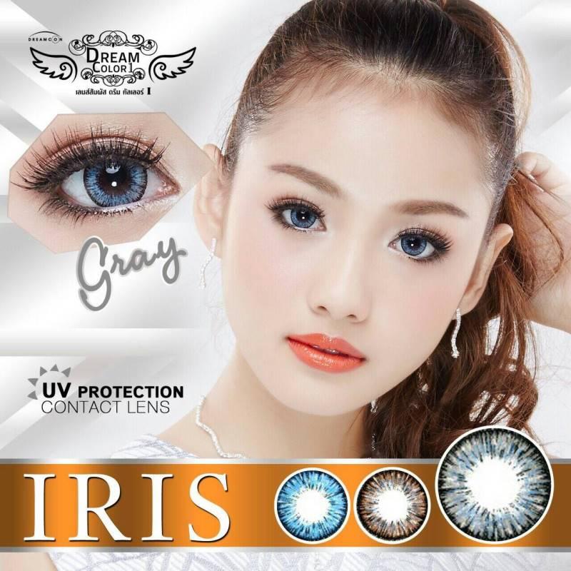 Iris Gray Dreamcolor1 เลนส์นิ่มใส่สบาย บิ๊กอายเกาหลีแท้100% ขายส่งคอนแทคเลนส์ ขายส่งBigeye