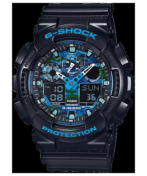 นาฬิกา คาสิโอ Casio G-Shock Limited Models Cool Blue CB Series รุ่น GA-100CB-1A สินค้าใหม่ ของแท้ ราคาถูก พร้อมใบรับประกัน
