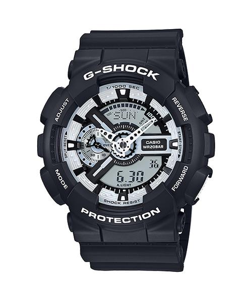 นาฬิกา คาสิโอ Casio G-Shock Special Color Models รุ่น GA-110BW-1A สินค้าใหม่ ของแท้ ราคาถูก พร้อมใบรับประกัน