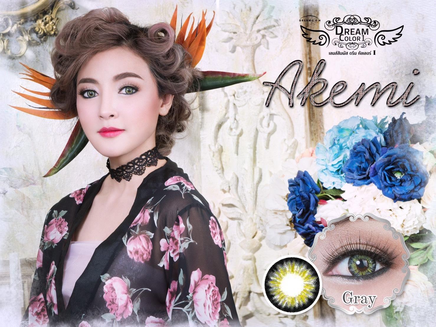 Akemi Dreamcolor1 เลนส์ตัดขอบ 4 โทน