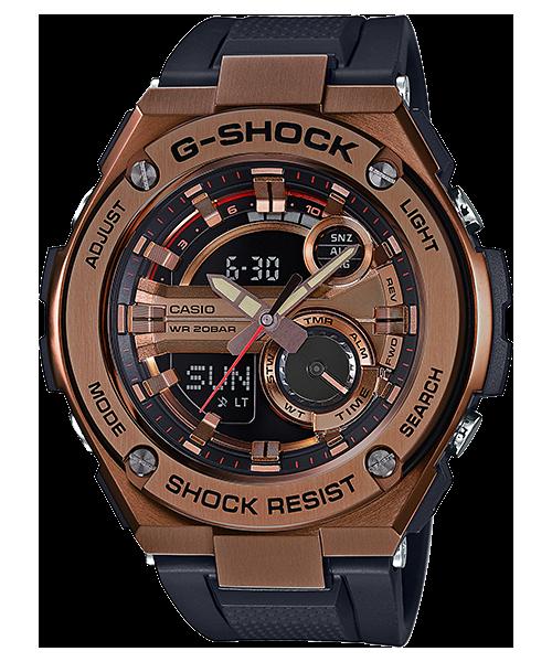 นาฬิกา คาสิโอ Casio G-Shock G-Steel Complex Dial รุ่น GST-210B-4A สินค้าใหม่ ของแท้ ราคาถูก พร้อมใบรับประกัน