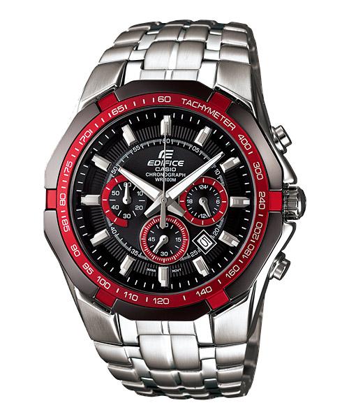 นาฬิกา คาสิโอ Casio Edifice Chronograph รุ่น EF-540D-1A4VDF สินค้าใหม่ ของแท้ ราคาถูก พร้อมใบรับประกัน