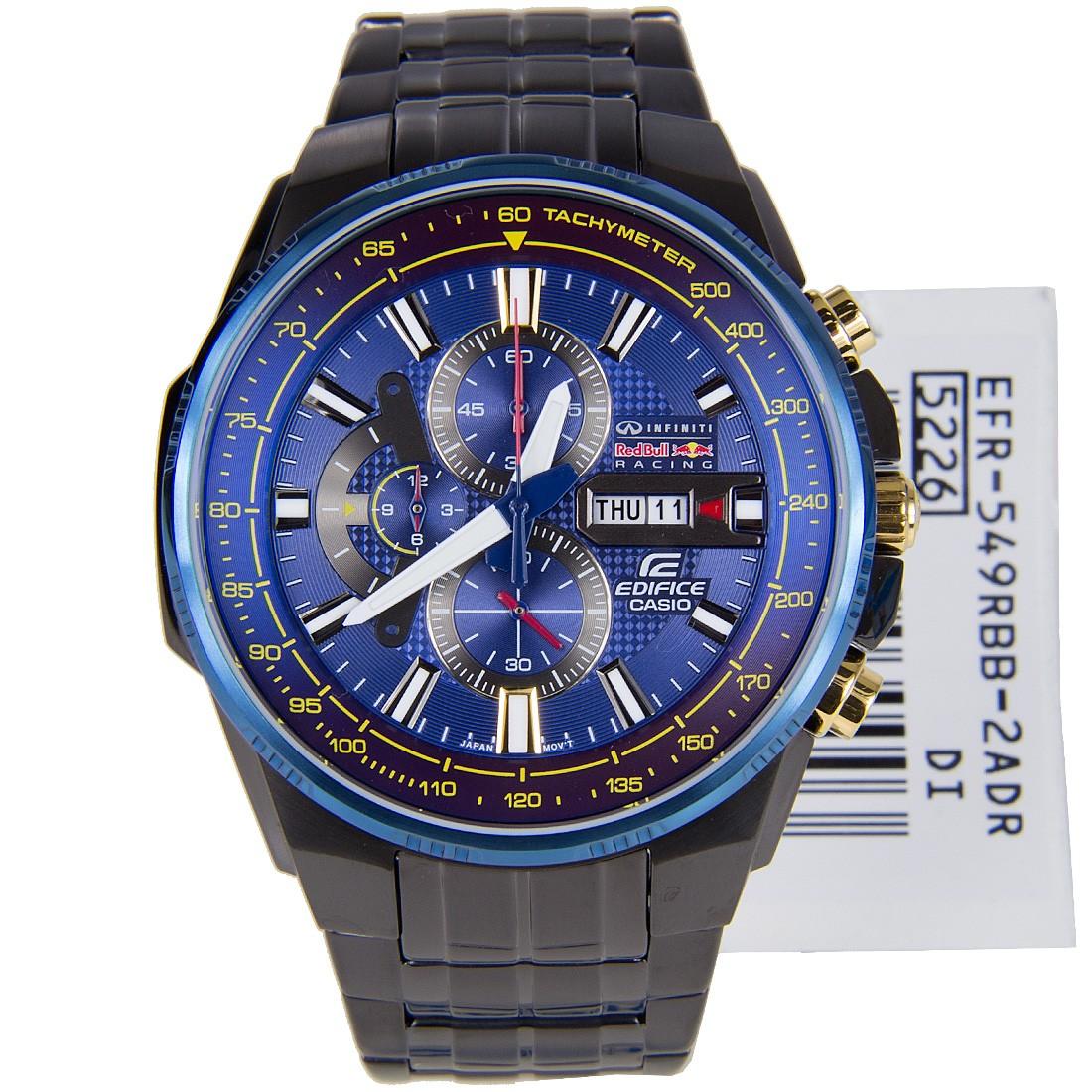 นาฬิกา คาสิโอ Casio Edifice Infiniti Red Bull Racing รุ่น EFR-549RBB-2AV สินค้าใหม่ ของแท้ ราคาถูก พร้อมใบรับประกัน