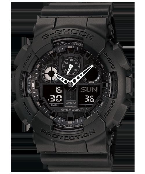 นาฬิกา คาสิโอ Casio G-Shock Standard Analog-Digital รุ่น GA-100-1A1 สินค้าใหม่ ของแท้ ราคาถูก พร้อมใบรับประกัน