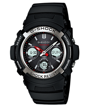 นาฬิกา คาสิโอ Casio G-Shock Standard Analog-Digital รุ่น AWR-M100-1ADR สินค้าใหม่ ของแท้ ราคาถูก พร้อมใบรับประกัน