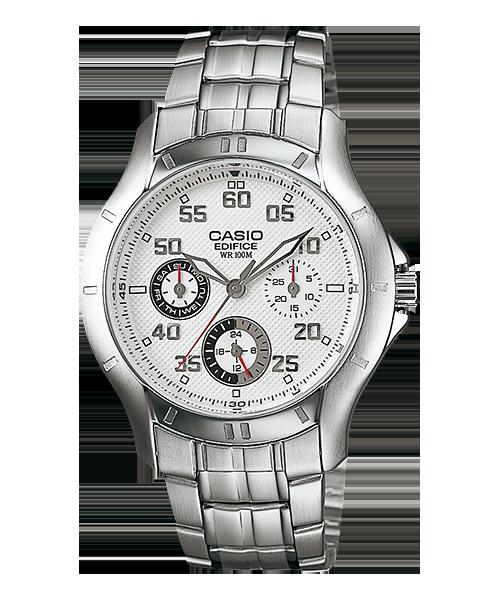 นาฬิกา คาสิโอ Casio Edifice Multi-hand รุ่น EF-317D-7AV สินค้าใหม่ ของแท้ ราคาถูก พร้อมใบรับประกัน