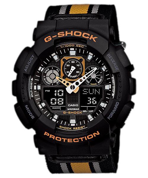นาฬิกา คาสิโอ Casio G-Shock Limited Models รุ่น GA-100MC-1A4 สินค้าใหม่ ของแท้ ราคาถูก พร้อมใบรับประกัน