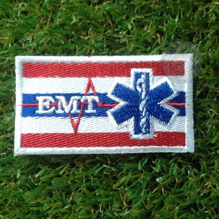 อาร์มธงชาติ+EMT+Star of Life