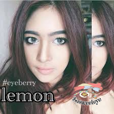 สายตาสั้น/POWER -475 LEMON GRAY EYEBERRYLENS