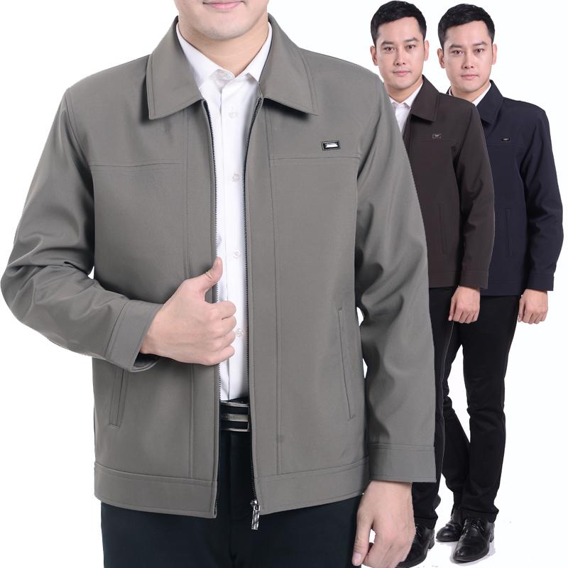 J6011002 เสื้อแจ็กเก็ตคอปกผู้ชายฤดูใบไม้ผลิ (พรีออเดอร์) รอสินค้า 3 อาทิตย์หลังโอน