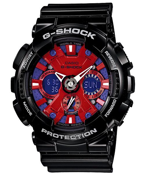 นาฬิกา คาสิโอ Casio G-Shock Standard Analog-Digital รุ่น GA-120B-1A สินค้าใหม่ ของแท้ ราคาถูก พร้อมใบรับประกัน