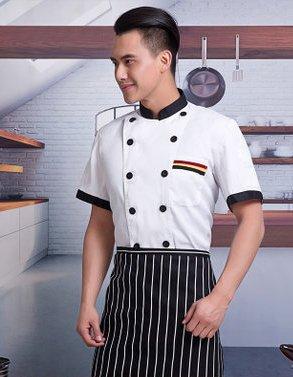 C6002002 เสื้อเชฟโรงแรม ร้านอาหาร (พรีออเดอร์) รอสินค้า 3 อาทิตย์หลังโอน