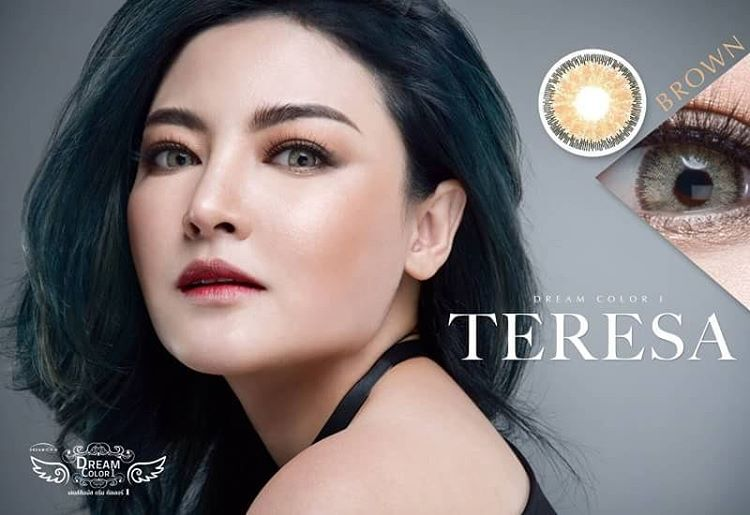 Teresa Dreamcolor1 ตาฝรั่งมาแล้ว