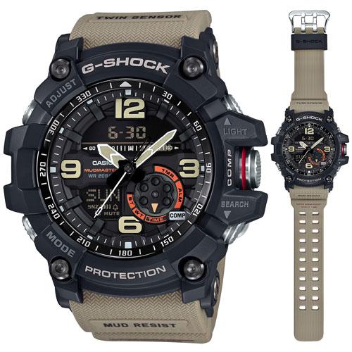 นาฬิกา คาสิโอ Casio G-Shock Mudmaster Twin Sensor รุ่น GG-1000-1A5 สินค้าใหม่ ของแท้ ราคาถูก พร้อมใบรับประกัน
