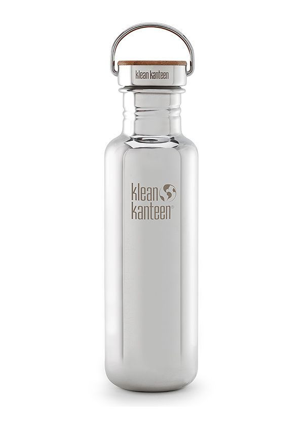 Klean Kanteen® Classic Reflect mirrored stainless 27oz