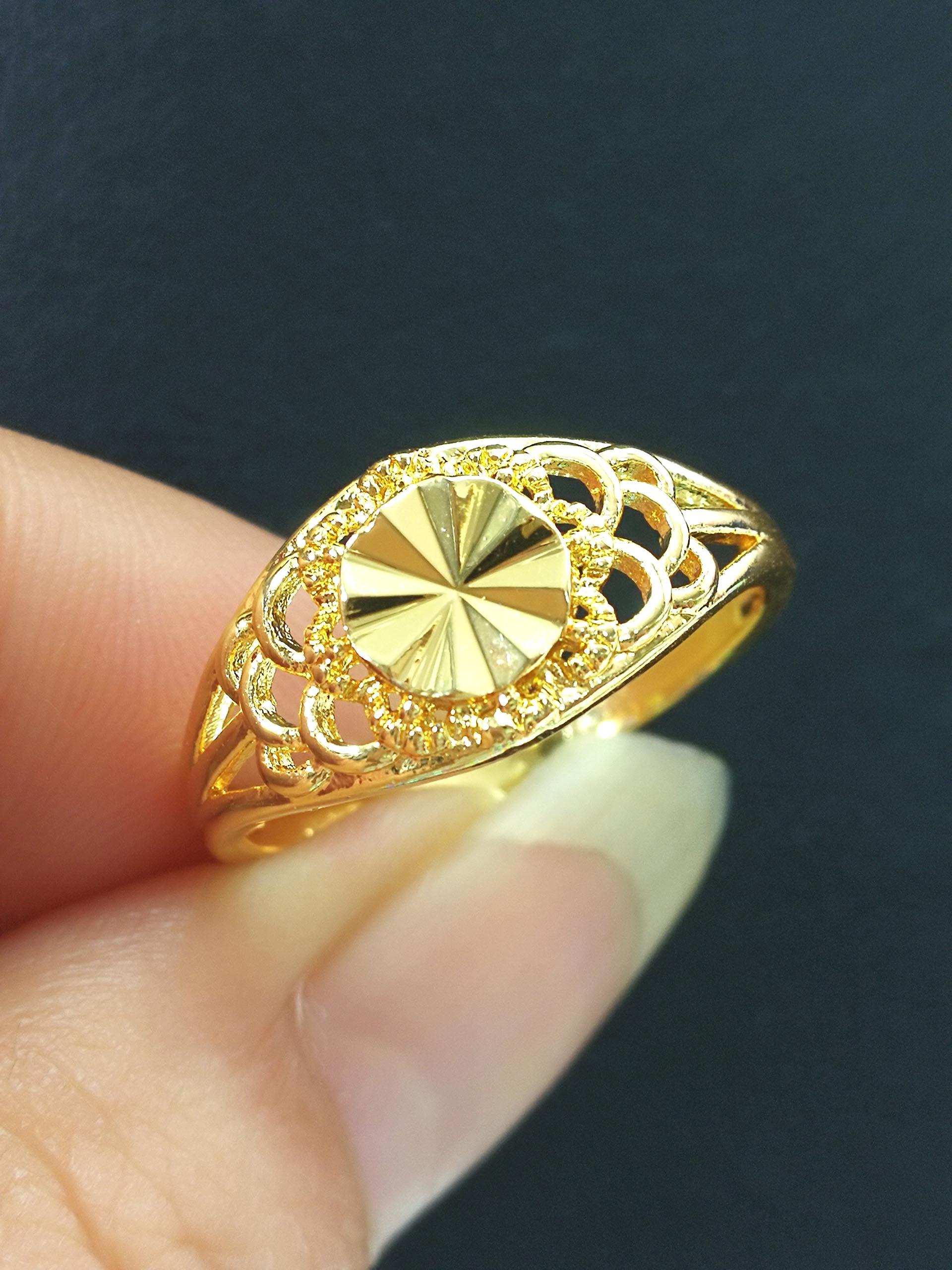 แหวนหุ้ม ทองคำแท้รหัส JR093