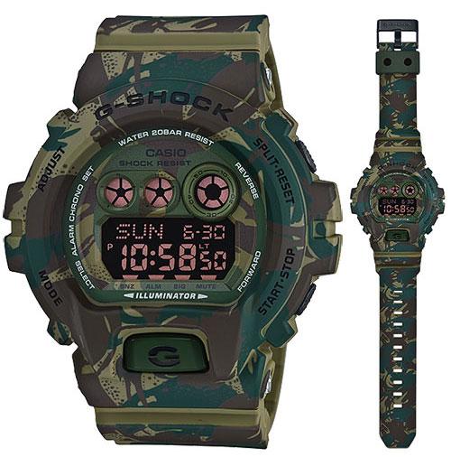 นาฬิกา คาสิโอ Casio G-Shock Limited Models Military Camouflage Series รุ่น GD-X6900MC-3 สินค้าใหม่ ของแท้ ราคาถูก พร้อมใบรับประกัน