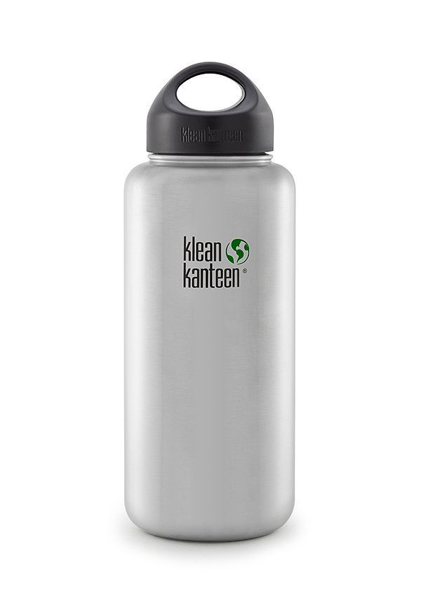 Kanteen® Wide brushed stainless 40oz