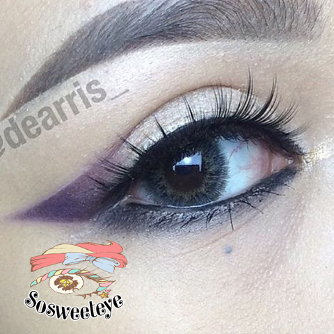 สั้น/power -300 MORE GRAY EYEBERRYLENS