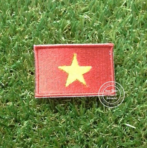 อาร์มปักธงเวียดนาม
