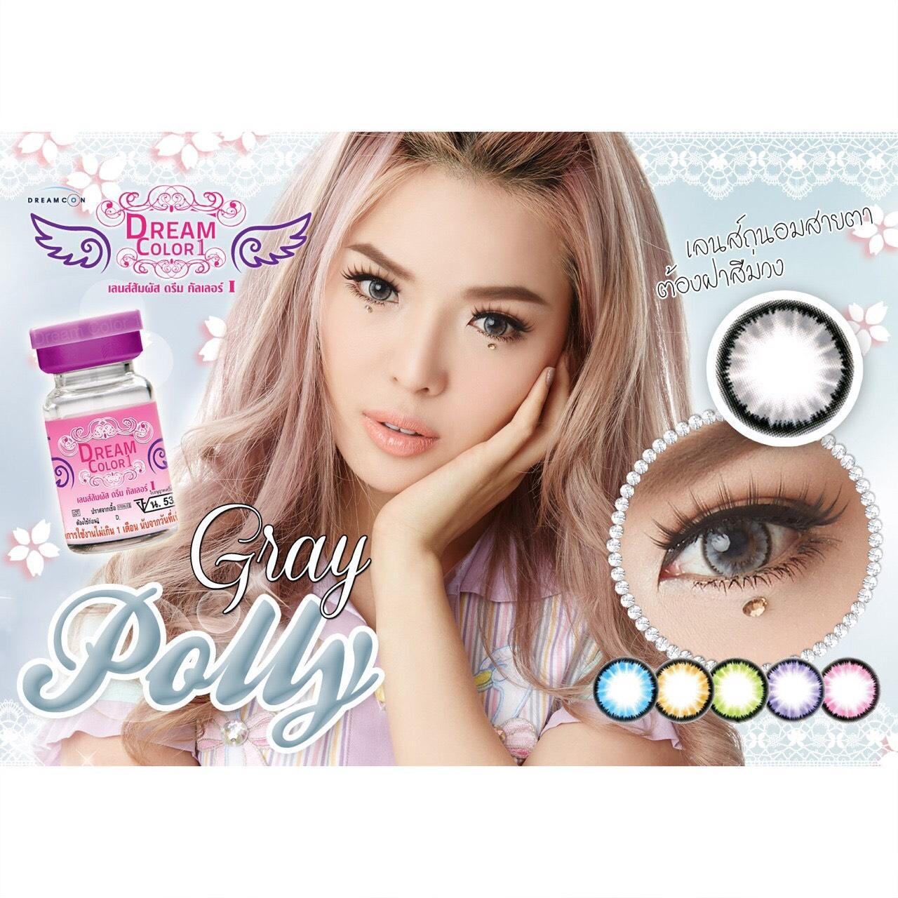 Polly Gray Dreamcolor1เลนส์นิ่มใส่สบาย คอนแทคเลนส์ ขายส่งคอนแทคเลนส์ ขายส่งBigeye Bigeyeเกาหลี