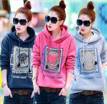 KW5711006 เสื้อกันหนาวสาวเกาหลี คอปก มีฮูด (พรีออเดอร์) แฟชั่นเกาหลี รอ 3 อาทิตย์หลังชำระเงิน