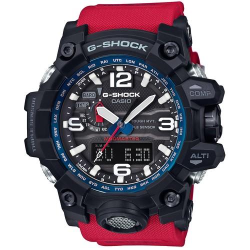นาฬิกา คาสิโอ Casio G-Shock Mudmaster Triple Sensor รุ่น GWG-1000RD-4A สินค้าใหม่ ของแท้ ราคาถูก พร้อมใบรับประกัน