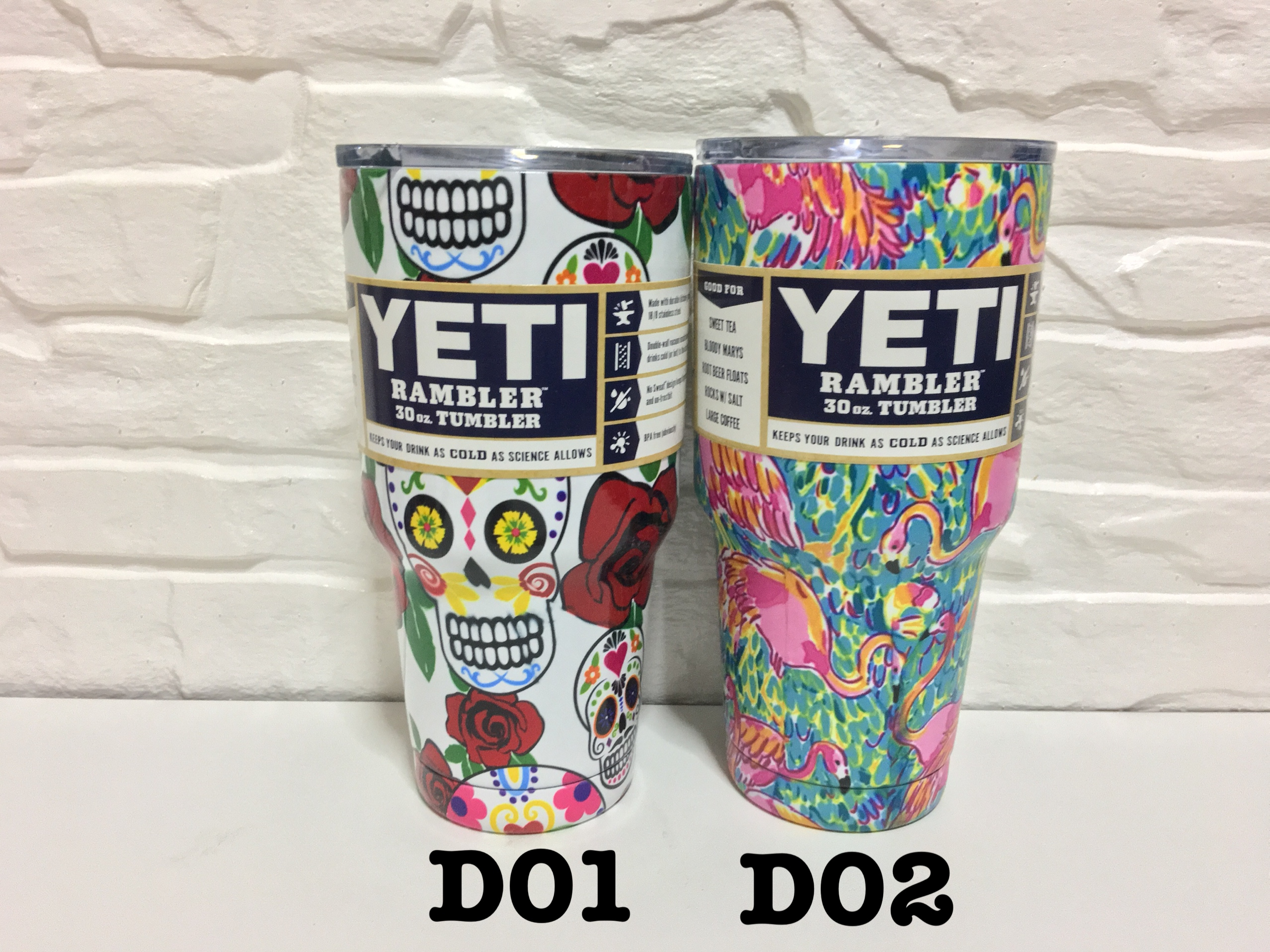 YETI Rambler แก้วเก็บความเย็น เก็บน้ำแข็ง 30 oz Model D