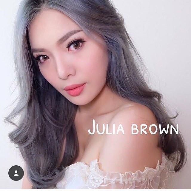 สั้น/Power -350 Julia Brown Dreamcon Mini size