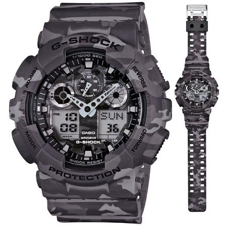 นาฬิกา คาสิโอ Casio G-Shock Special Color Models รุ่น GA-100CM-8A สินค้าใหม่ ของแท้ ราคาถูก พร้อมใบรับประกัน