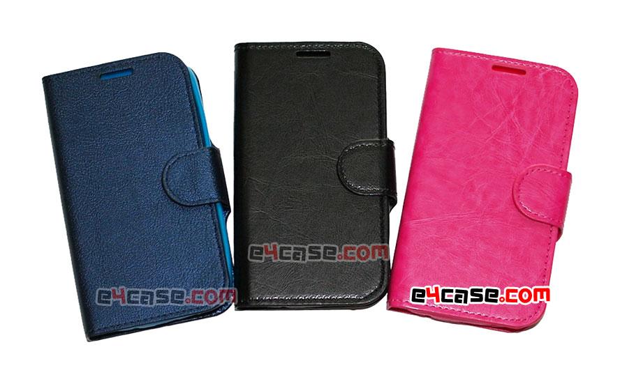 เคส Galaxy Ace 4, Galaxy V (Samsung G313) - Ju Mobile เคสพับ