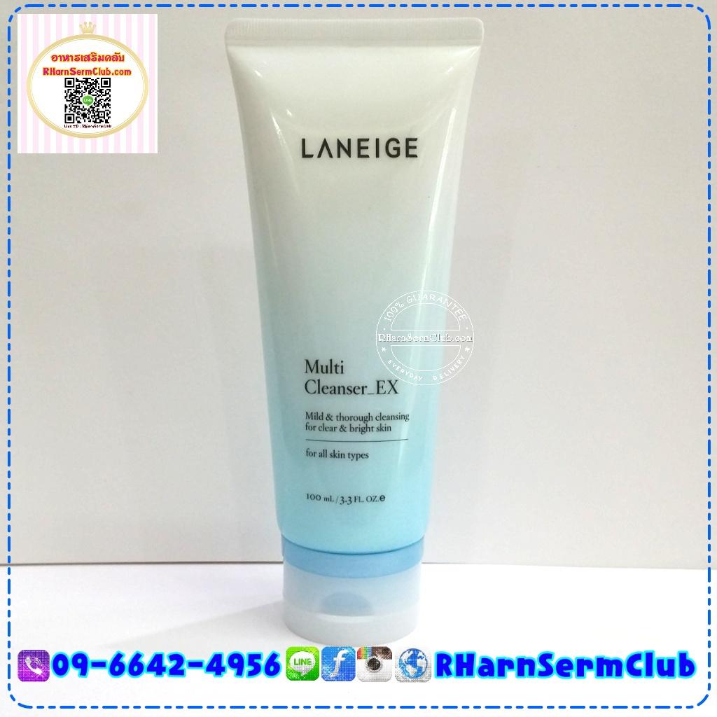ลาเนจ LANEIGE Multi Cleanser_EX 100 ml. x 2 หลอด