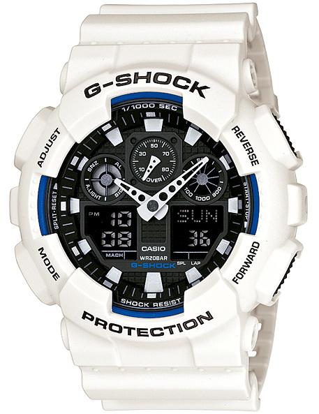 นาฬิกา คาสิโอ Casio G-Shock Standard Analog-Digital รุ่น GA-100B-7A สินค้าใหม่ ของแท้ ราคาถูก พร้อมใบรับประกัน