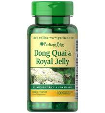 Puritan's Pride Dong Quai & Royal Jelly 200 mg/300 mg / 100 Capsules