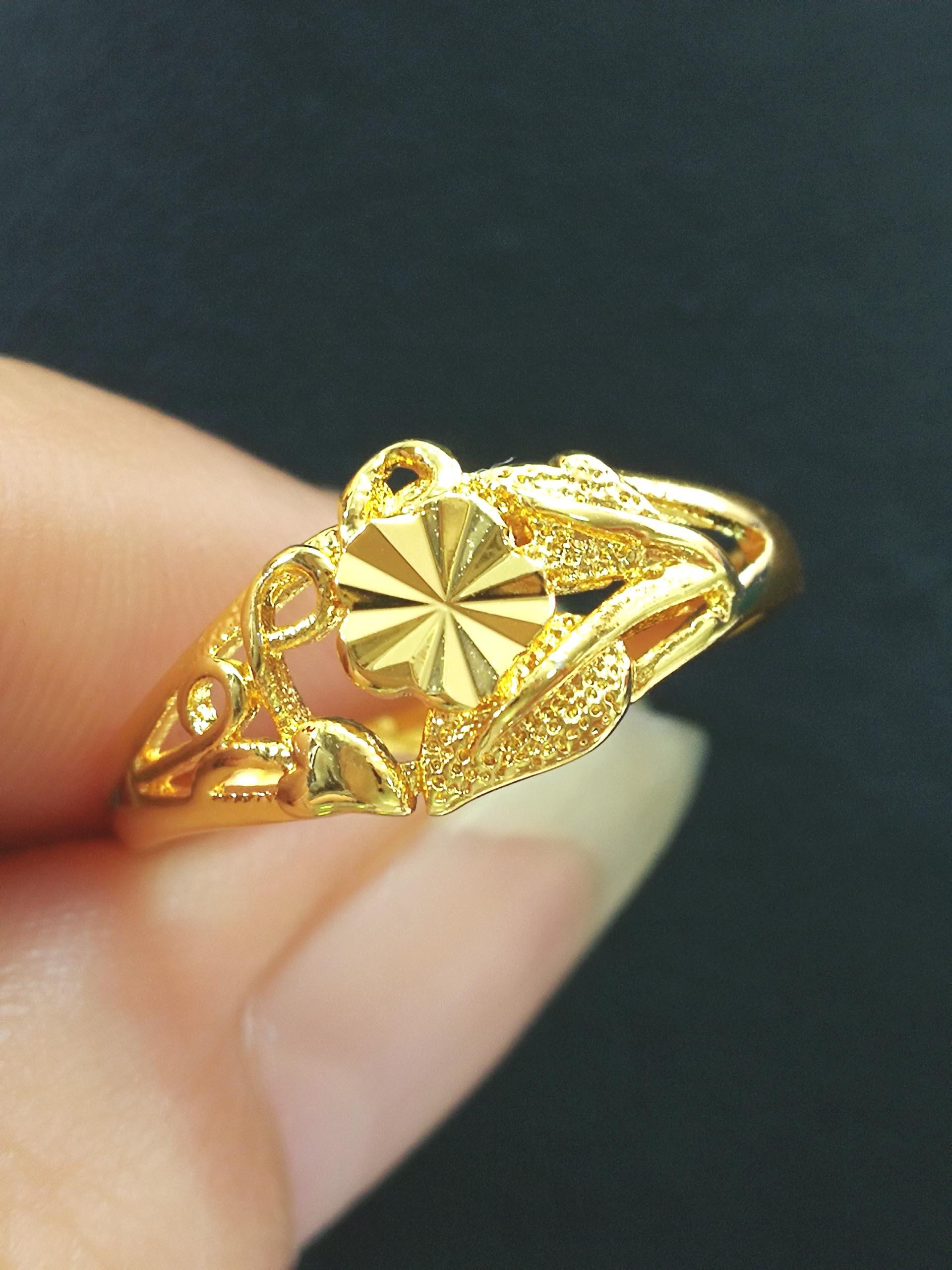 แหวนหุ้ม ทองคำแท้รหัส JR095
