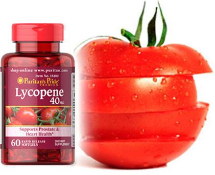 Puritan's Pride Lycopene 40mg (60 Softgels) ผลิตภัณฑ์เสริมอาหารสารสกัดจากไลโคปีน อุดมด้วยสารต้านอนุมูลอิสระที่ทรงประสิทธิภาพ ช่วยบำรุงร่างกายพร้อมฟื้นฟูผิวสวยสุขภาพดี จากภายในสู่ภายนอก
