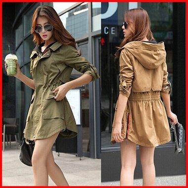 CW5709023 เสื้อแจ็กเก็ต กันหนาว ผ้าฝ้าย คอปก มีฮูดซิปหน้า อบอุ่นมาก แฟชั่นเกาหลี (พรีออเดอร์)