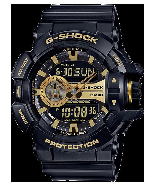 นาฬิกา คาสิโอ Casio G-Shock Limited Models Garish Black&Gold Series รุ่น GA-400GB-1A9 สินค้าใหม่ ของแท้ ราคาถูก พร้อมใบรับประกัน
