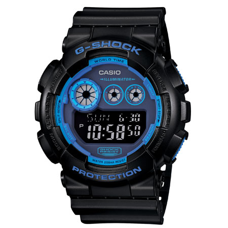 นาฬิกา คาสิโอ Casio G-Shock Limited Models รุ่น GD-120N-1B2 สินค้าใหม่ ของแท้ ราคาถูก พร้อมใบรับประกัน