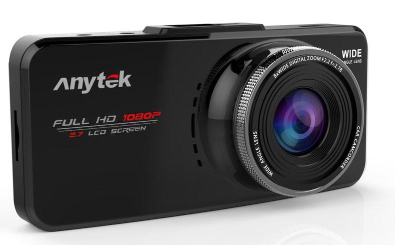 DVR Anytek รุ่น AT66A ของแท้ 100% 1080P @ 30 FPS สีดำ ส่งฟรี เก็บเงินปลายทางทั่วไทย